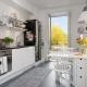 Варианты дизайна кухни площадью 14 кв. м