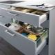 Выдвижные ящики для кухни: особенности, виды и советы по выбору