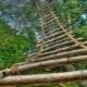 Веревочные лестницы: виды, размеры и инструкция по изготовлению