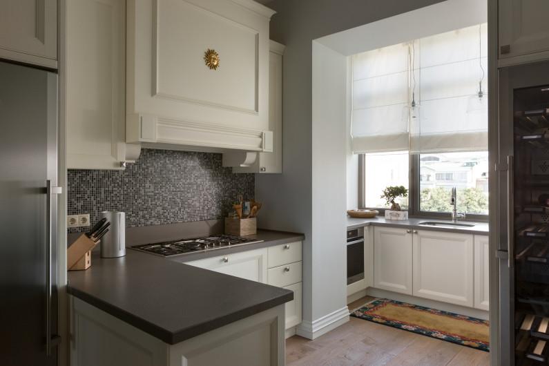 Дизайн балкона, совмещенного с кухней (72 фото): интерьер со.