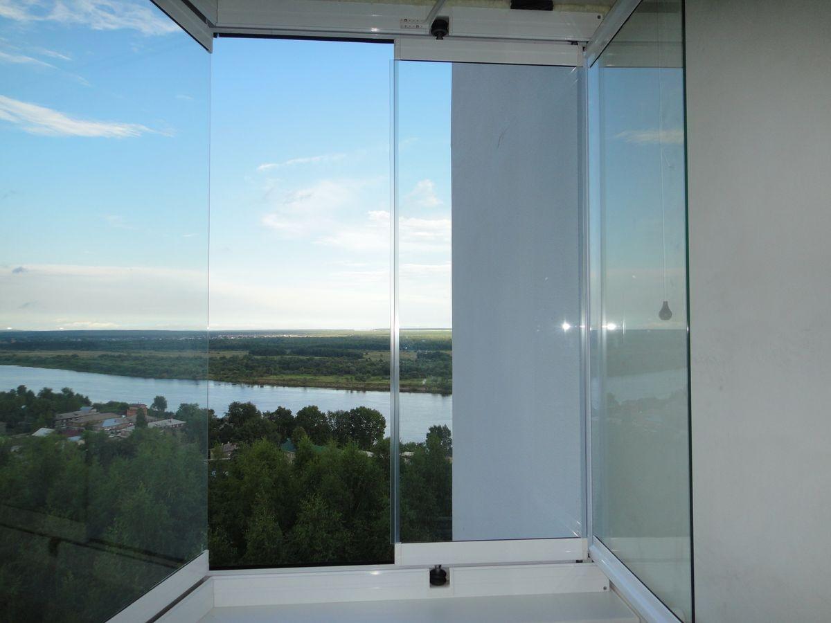Безрамное остекление балконов (66 фото): теплые безрамные ст.
