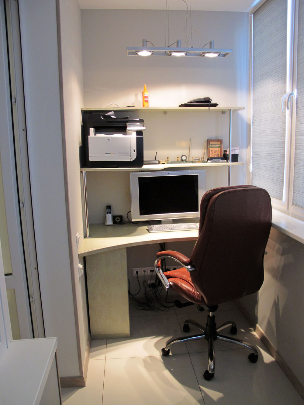Квартира-студия в стиле минимализм - фото и дизайн на vivbo..