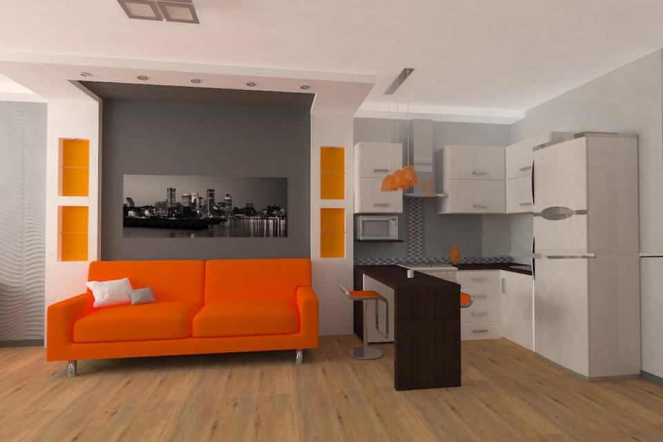 Дизайн квартиры-студии на 16 кв.м