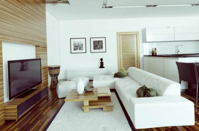 Дизайн-проекты и ремонт четырехкомнатных квартир - фото