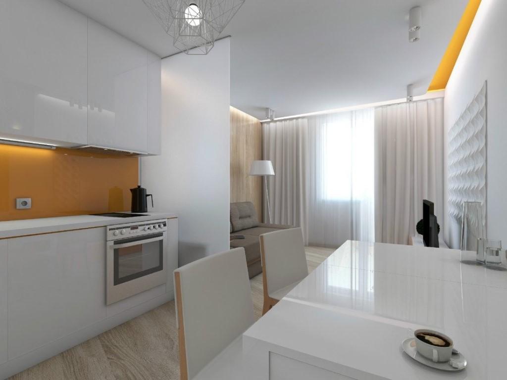 Квартиры-студии с одним окном дизайн