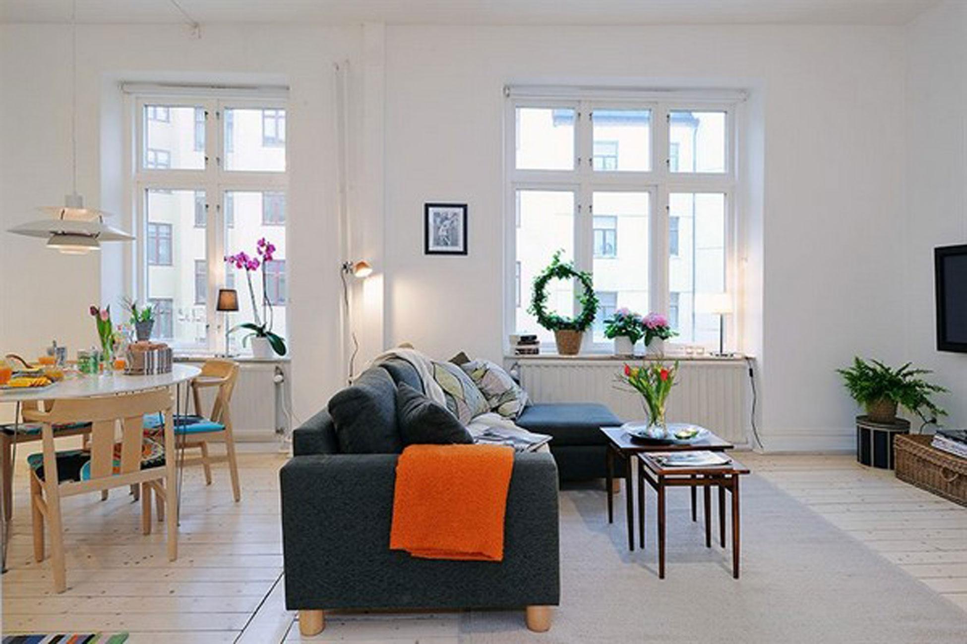 Дизайн квартир 35 кв с двумя окнами