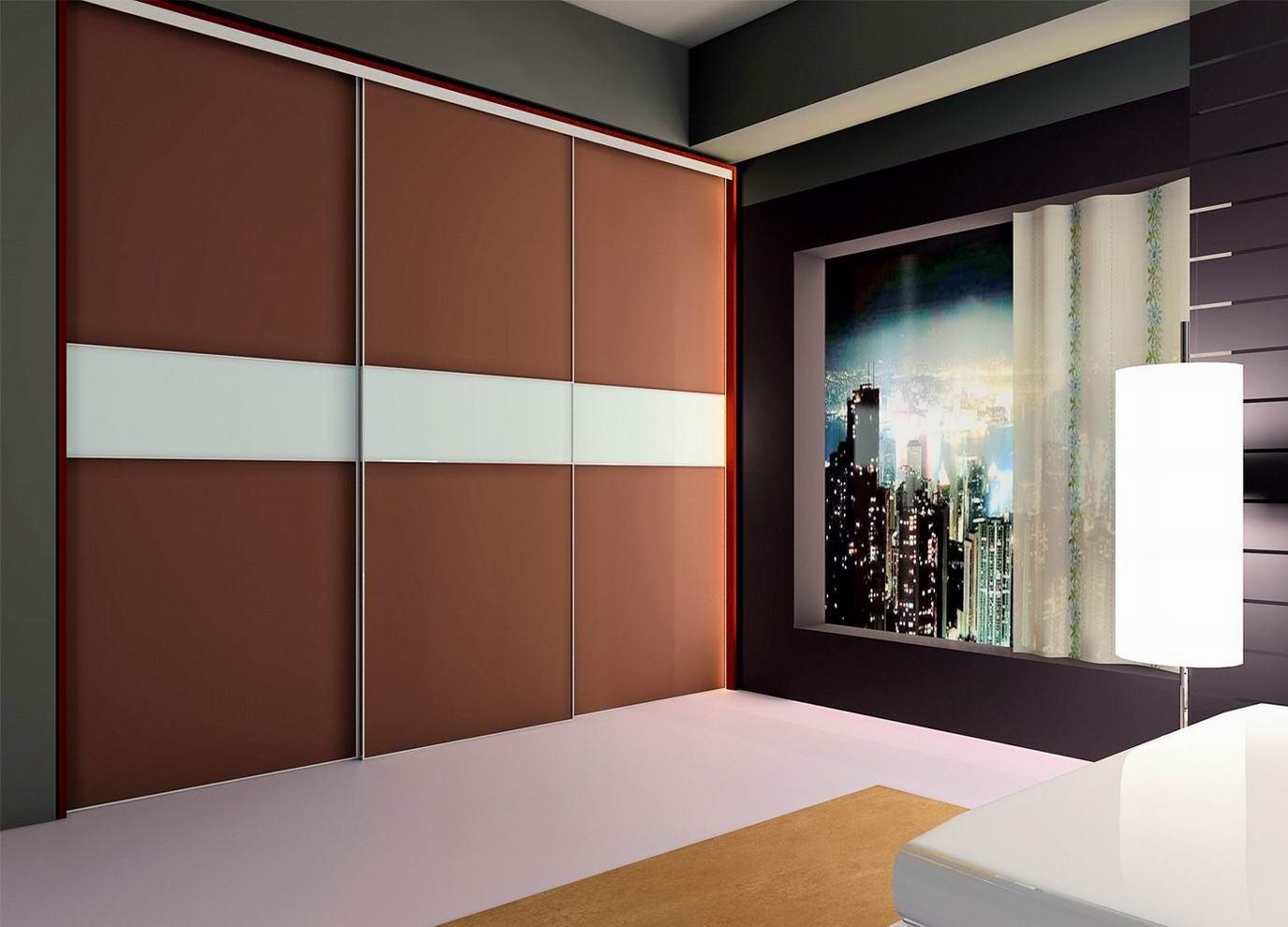 Дизайн шкафа-купе (127 фото): идеи фасадов в прихожую или ко.
