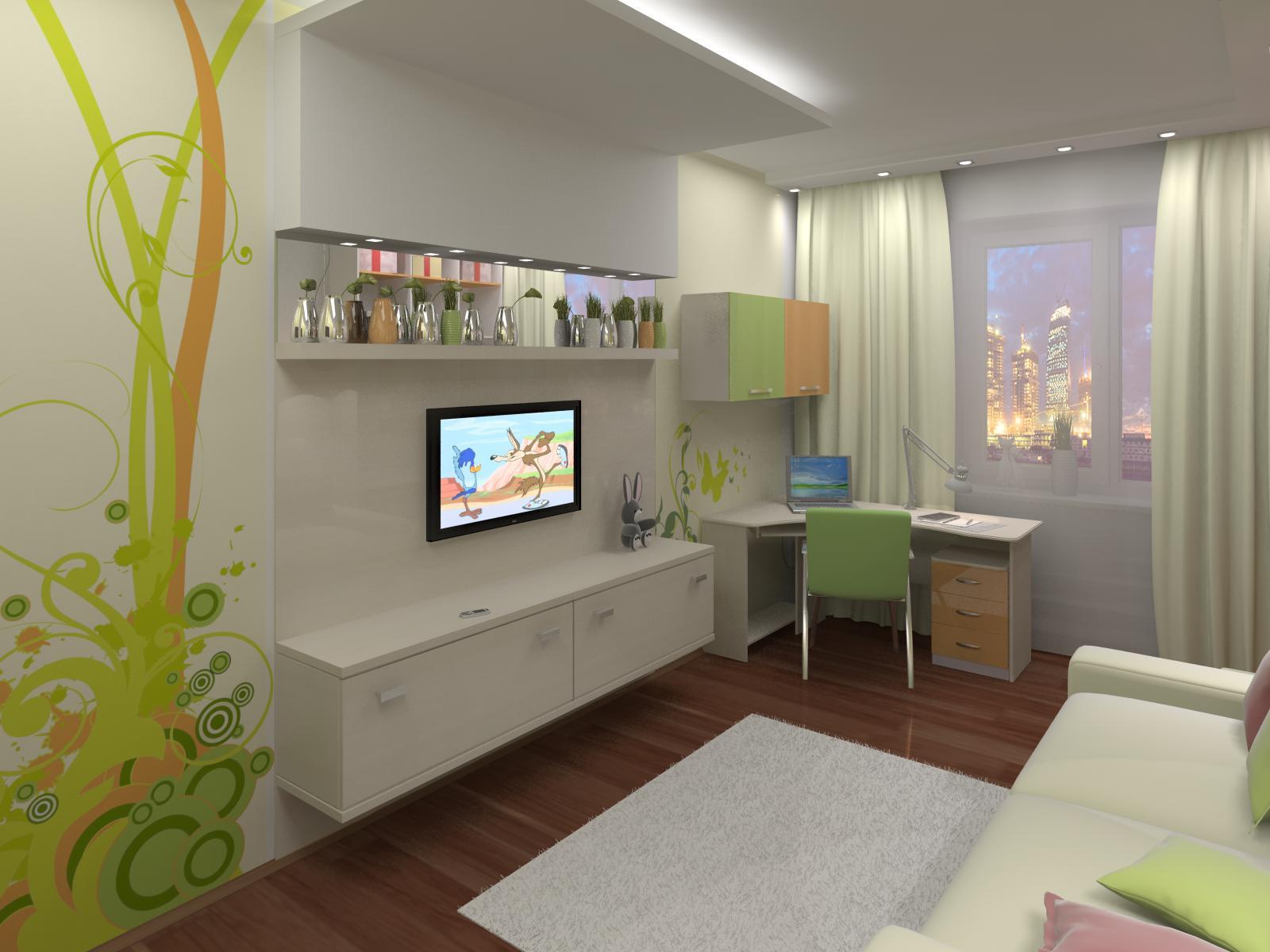 Детская дизайн интерьера 12 кв метров