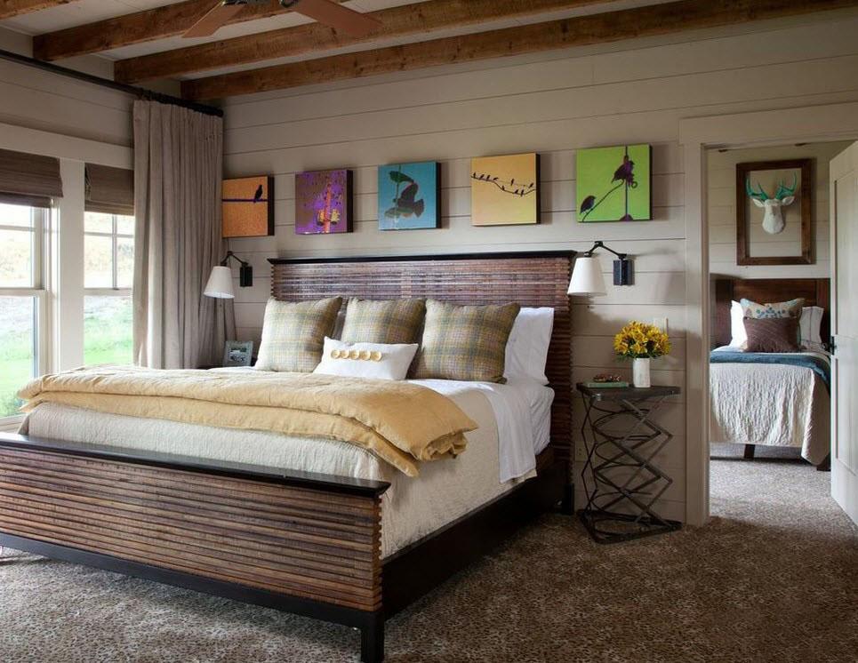 Спальня кантри дизайн