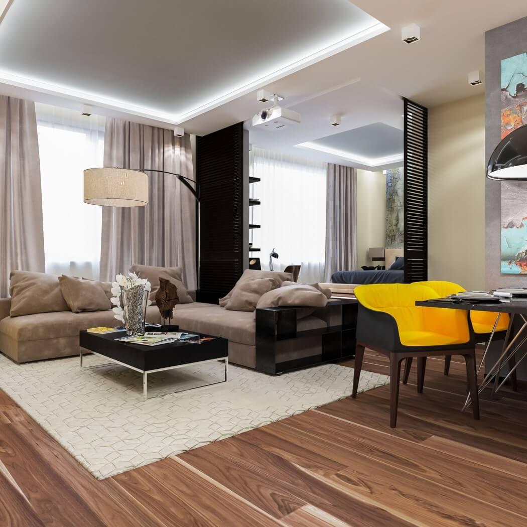 Фото дизайна оформления интерьера квартиры