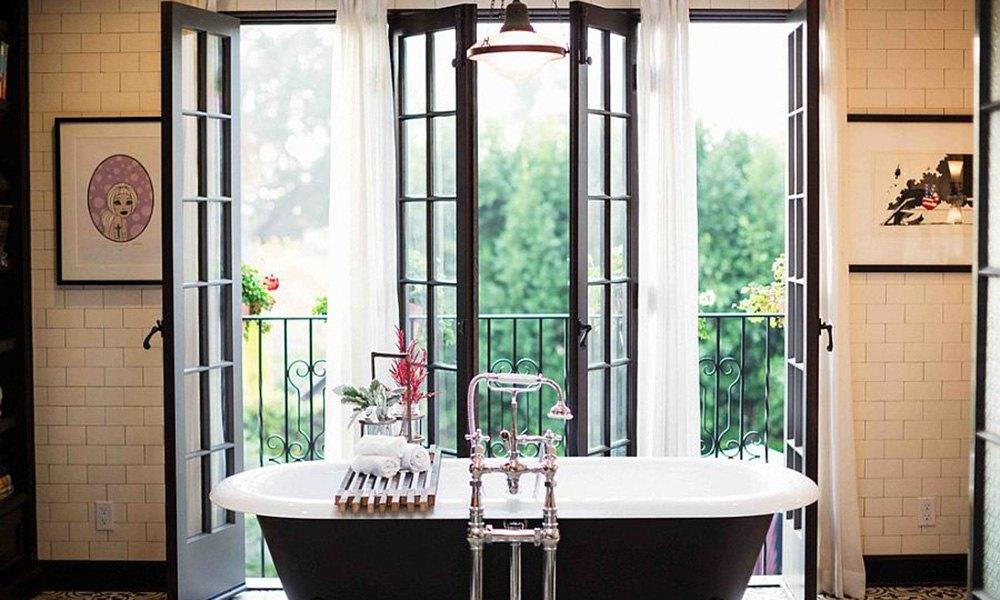 Французский балкон фото вариантов оформления помещения