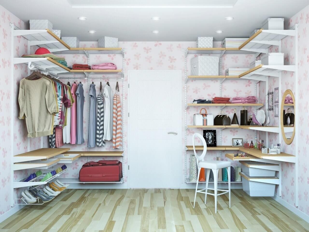 Фото гардеробных комнат своими руками фото 169