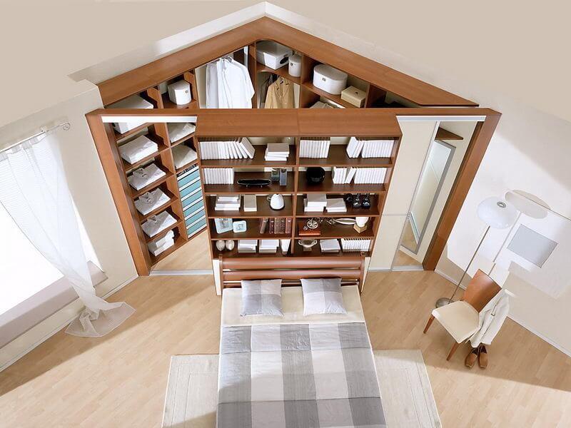 Как сделать гардероб в комнате своими руками