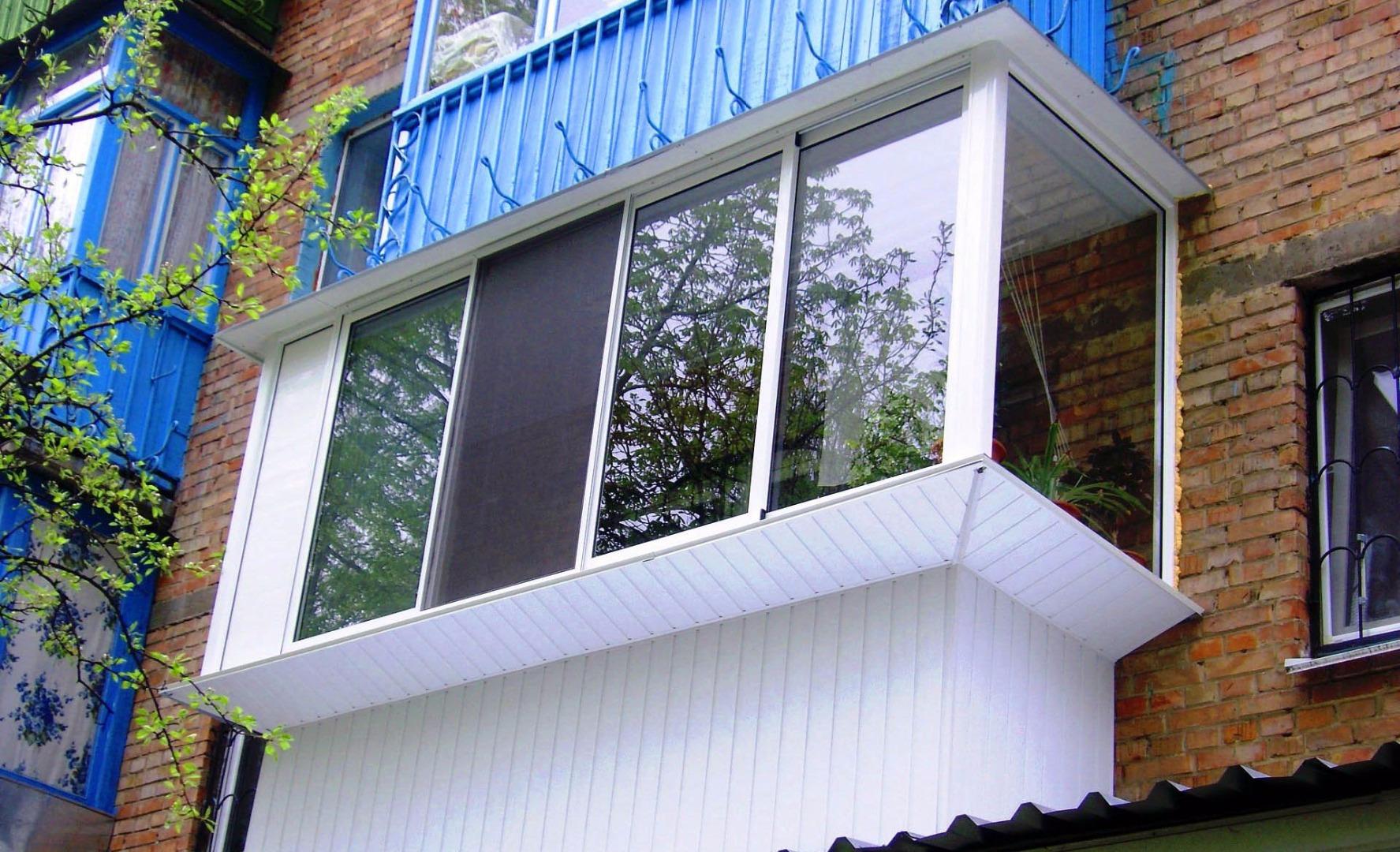 Идеи ремонта балконов и лоджий брежневок, цены от производит.