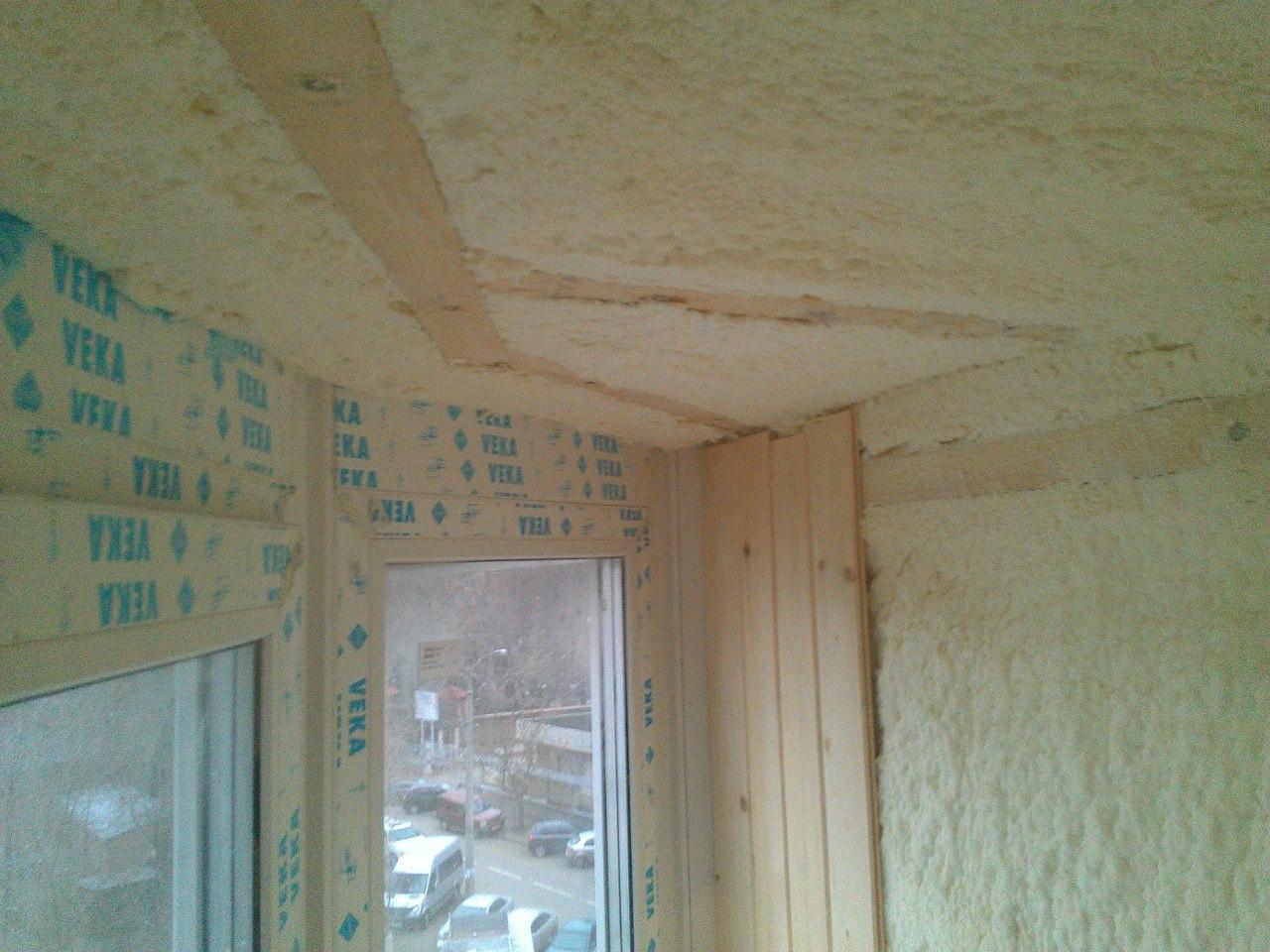 Утепление потолка лоджии своими руками пошаговая инструкция фото