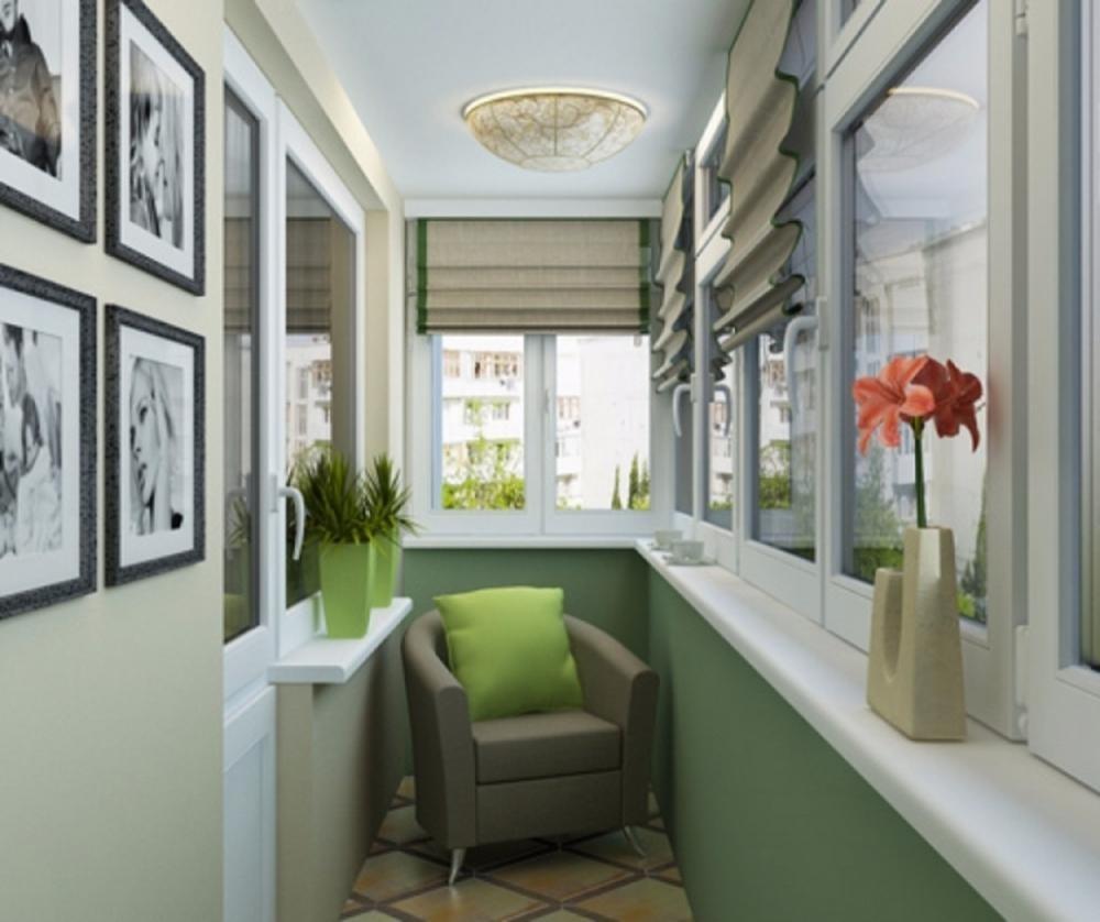 Дизайн балкона: фото и советы fotodesigna.ru.