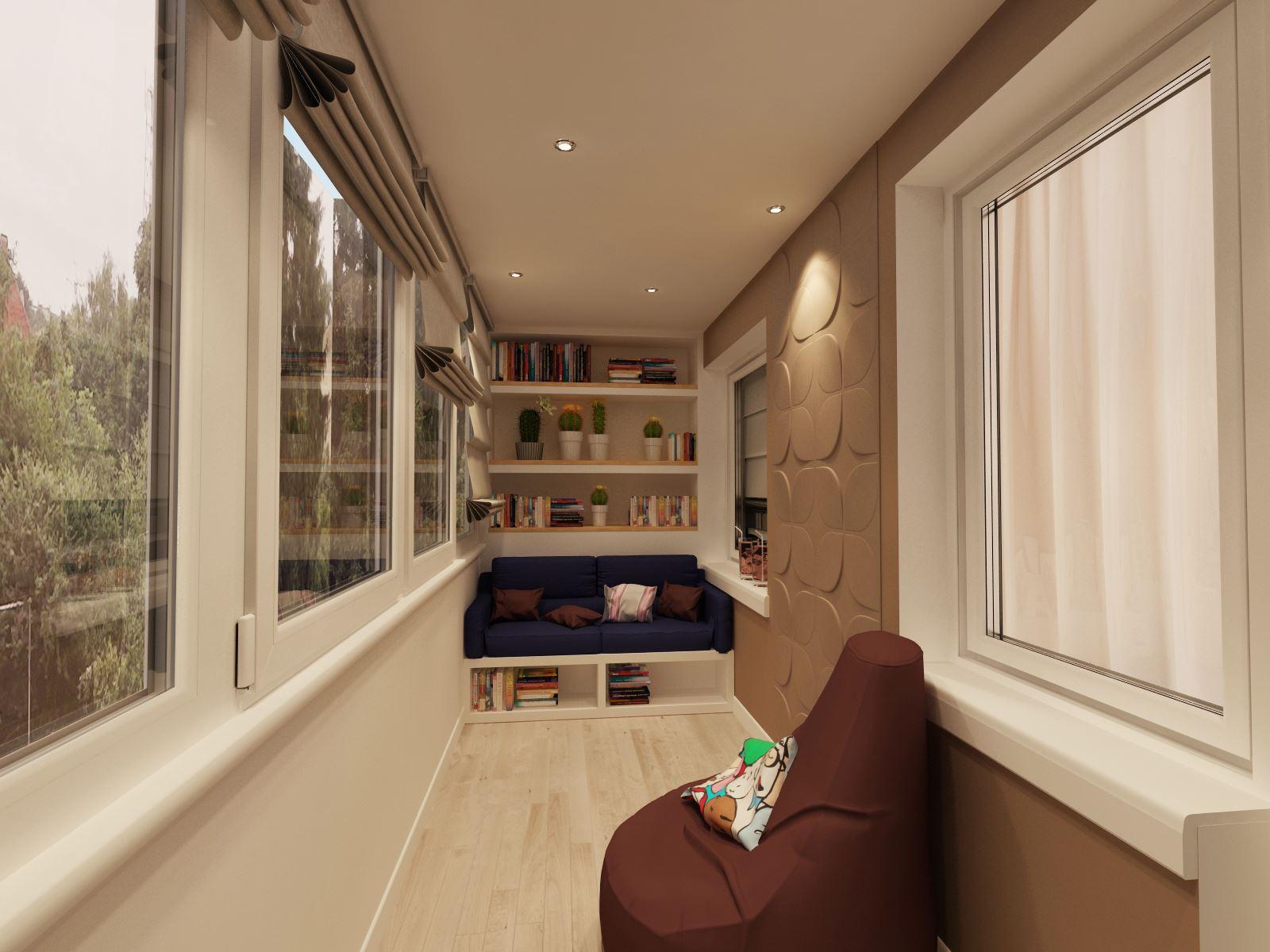 Интерьер балкона фото - фотогалерея.