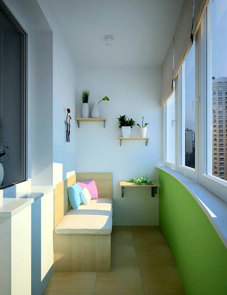 Дизайн балкона недорого