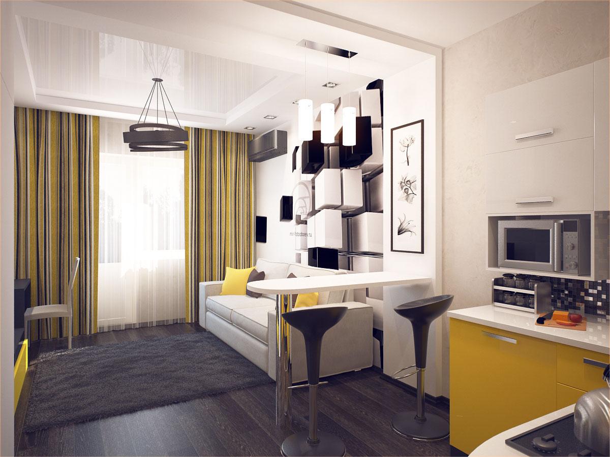 Фото квартира студия 28 кв м дизайн