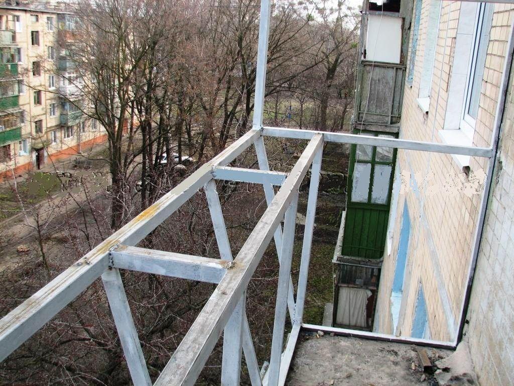 Балкон с выносом своими руками фото 160
