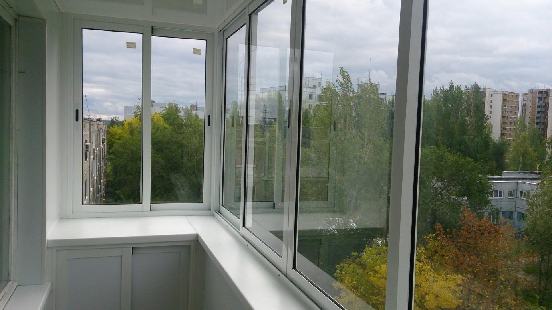 Пошаговое остекление балкона