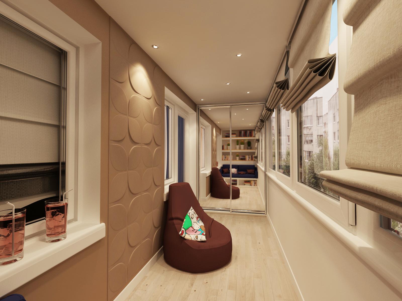 Дизайн лоджии - 75 фото идей оформления интерьера лоджии.