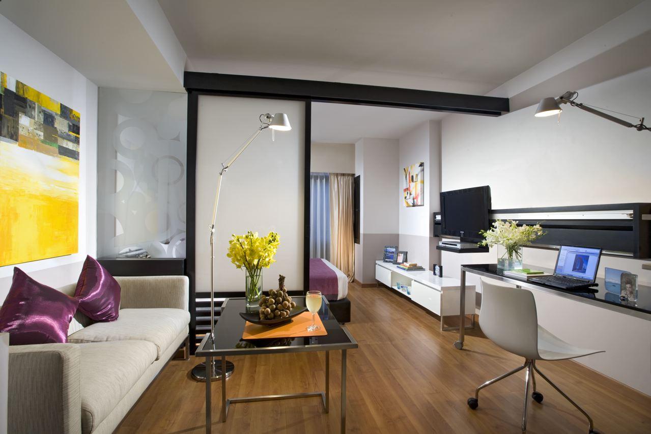 Посмотреть дизайн однокомнатной квартиры