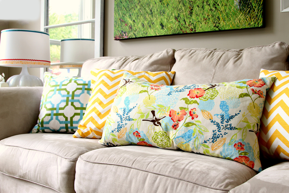 Подушки и валики для дивана своими руками 101