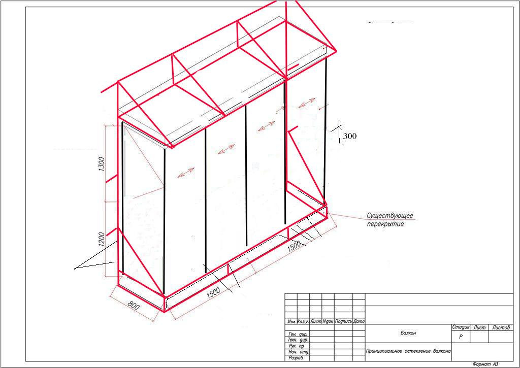 Как пристроить балкон на первом этаже? Строительство с