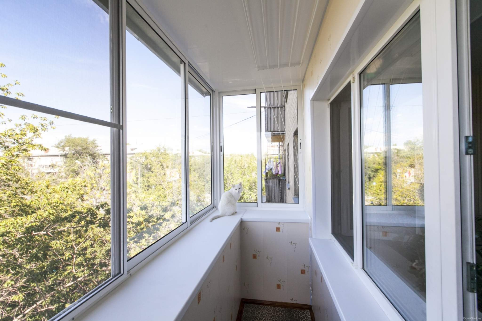 Тёплое остекление балконов и лоджий - недорого в москве и мо.