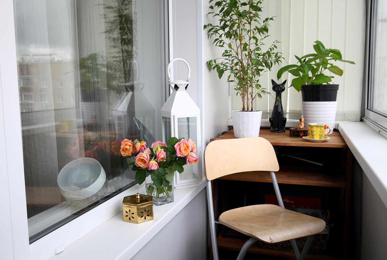 """Декорирование балкона своими руками свет"""" - карточка пользов."""