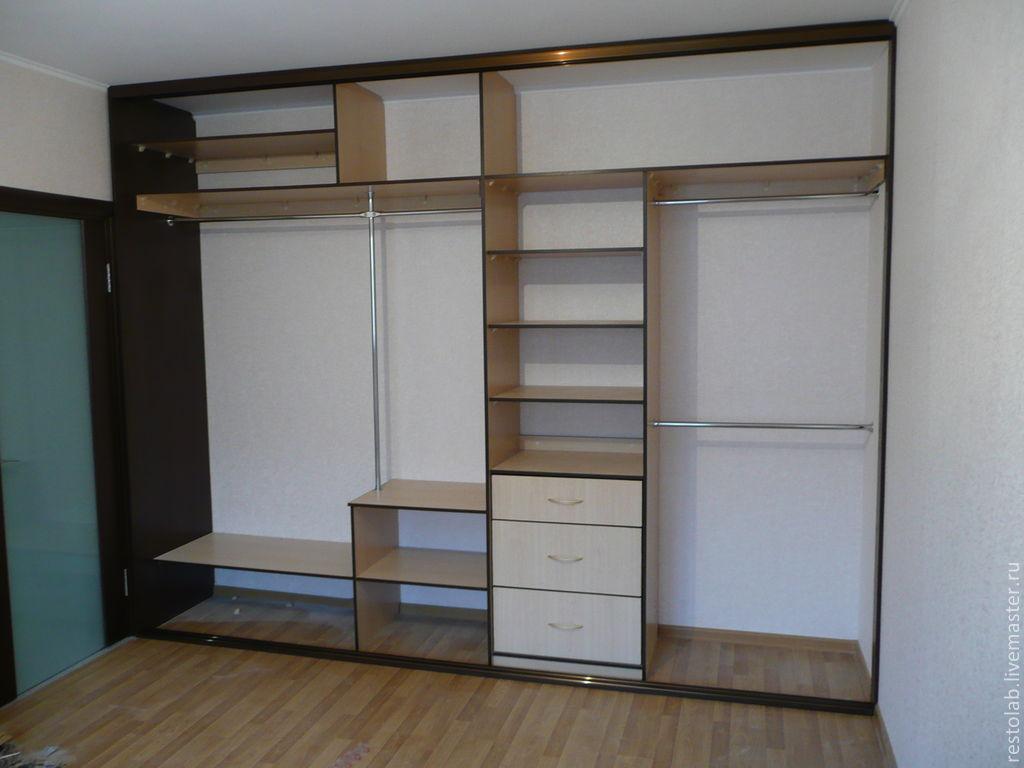 Встроенные шкафы для комнаты своими руками фото 450
