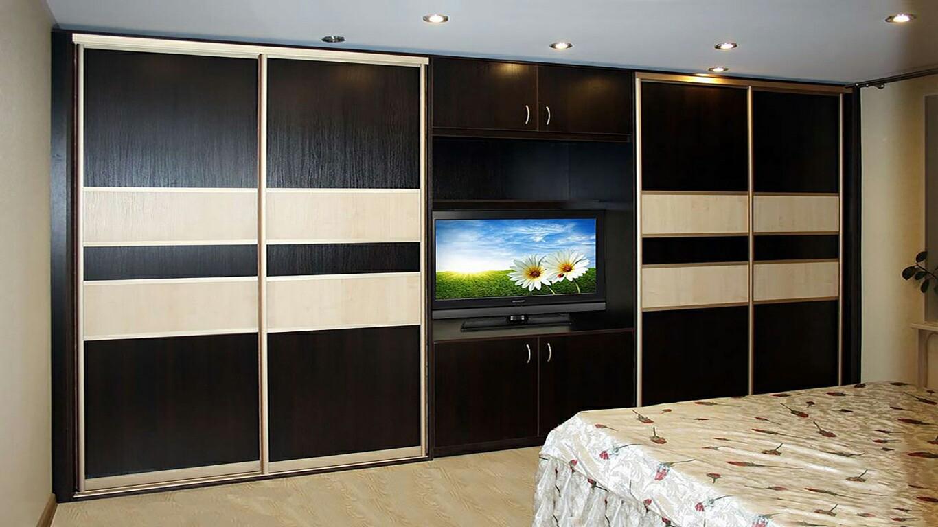 Шкаф купе под телевизор купить в москве.