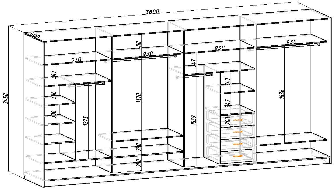 Проектирование шкафов купе своими руками 61