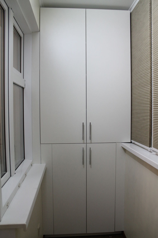 Шкафы на хрущевских балконах. - цена на металлопластиковые о.