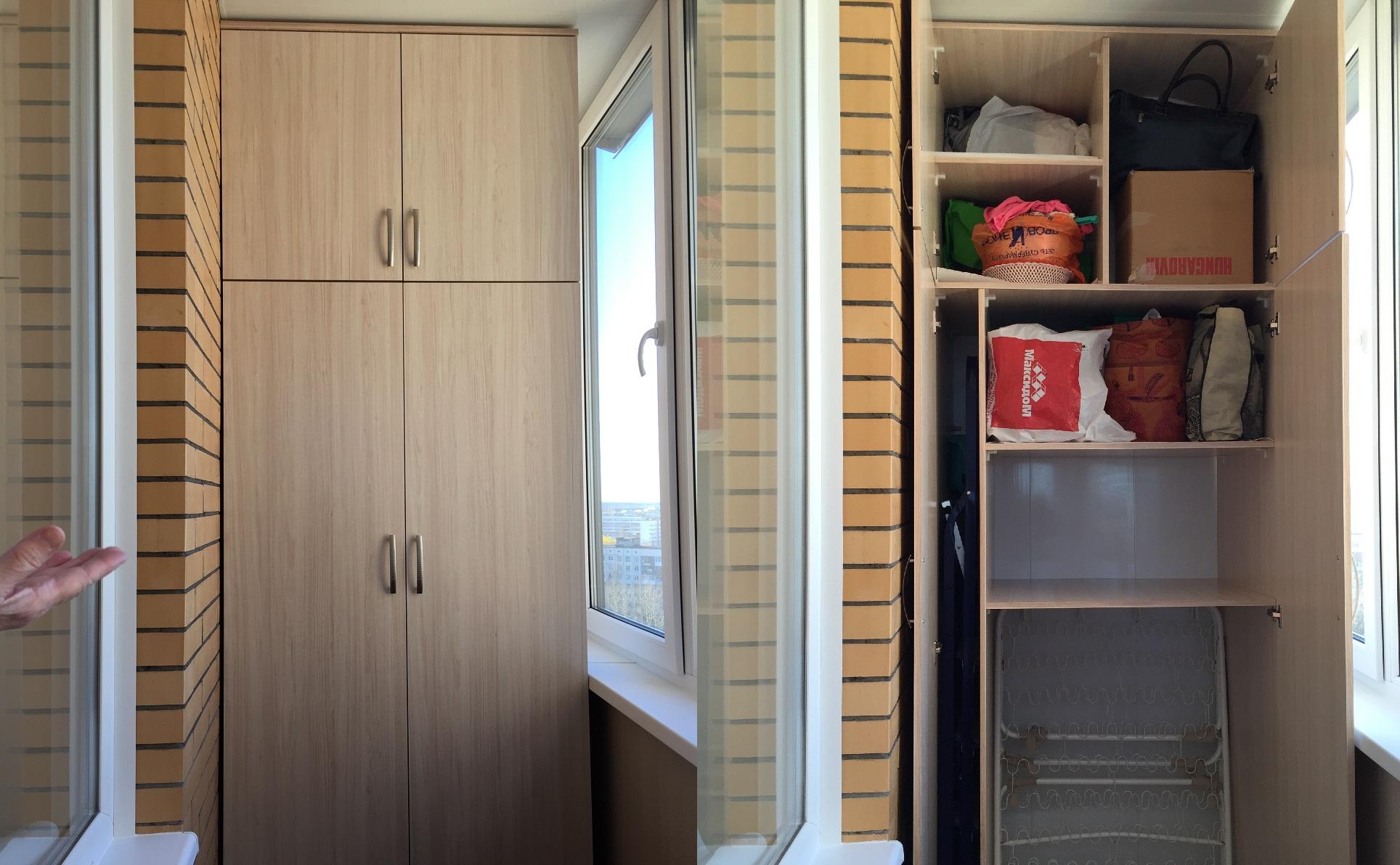 Встроенный шкафчик своими руками фото 774