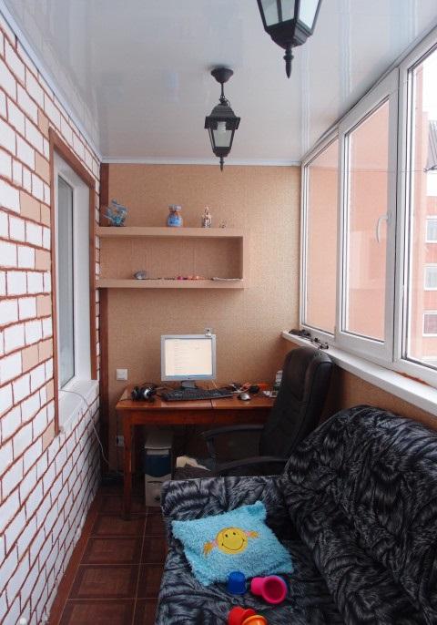 Спальня на балконе (55 фото): как сделать спальное место на .