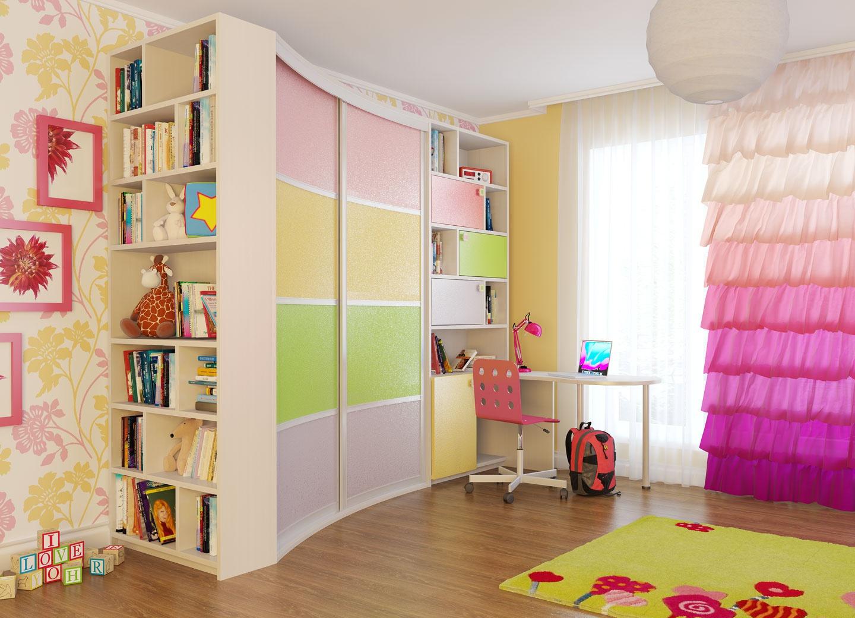 Шкаф купе в детскую фото дизайн идеи