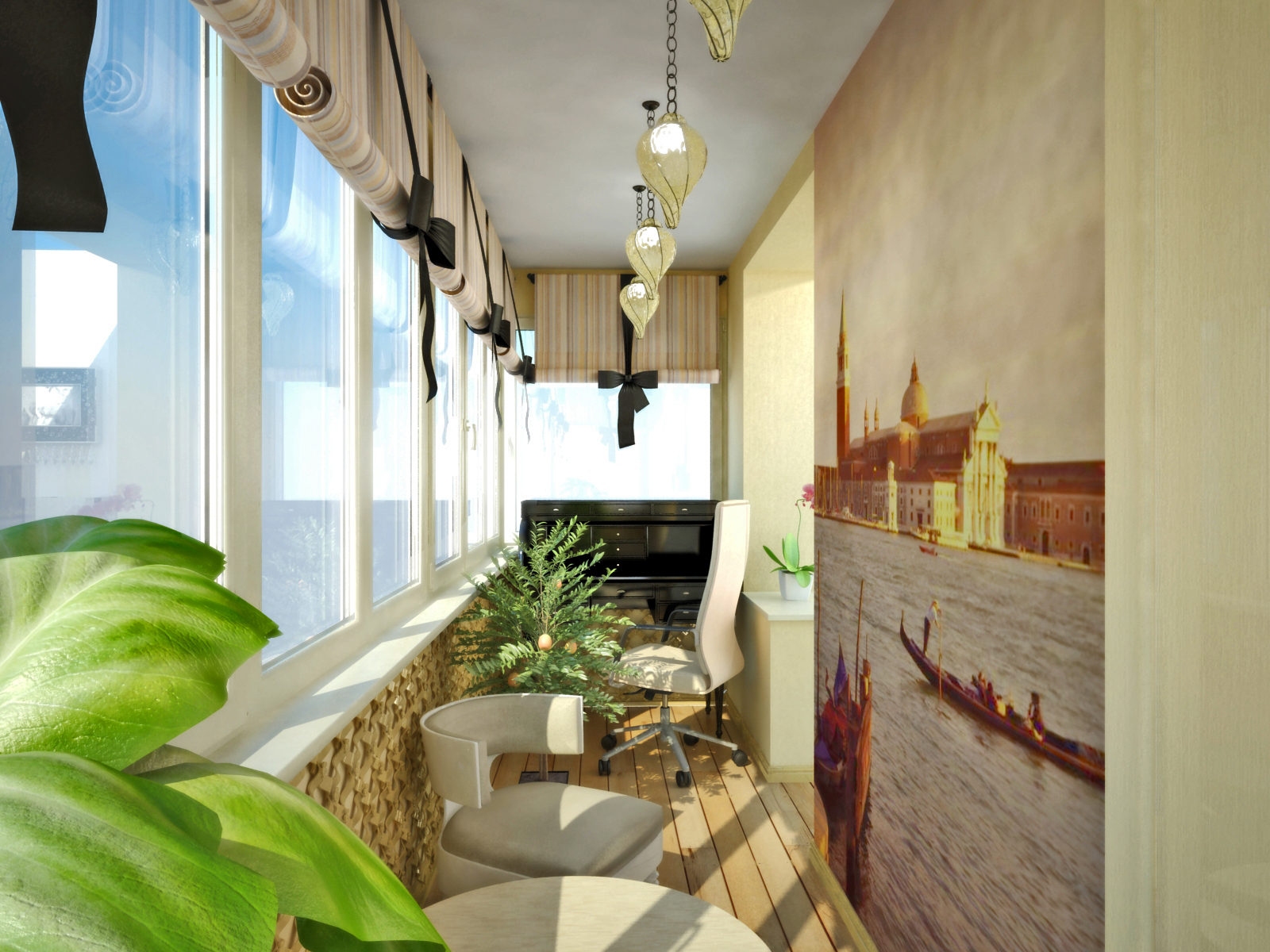 20 актуальных идей, как создать уютный интерьер на балконе и.
