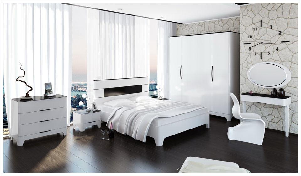 белая мебель для спальни 51 фото дизайн современной спальни с