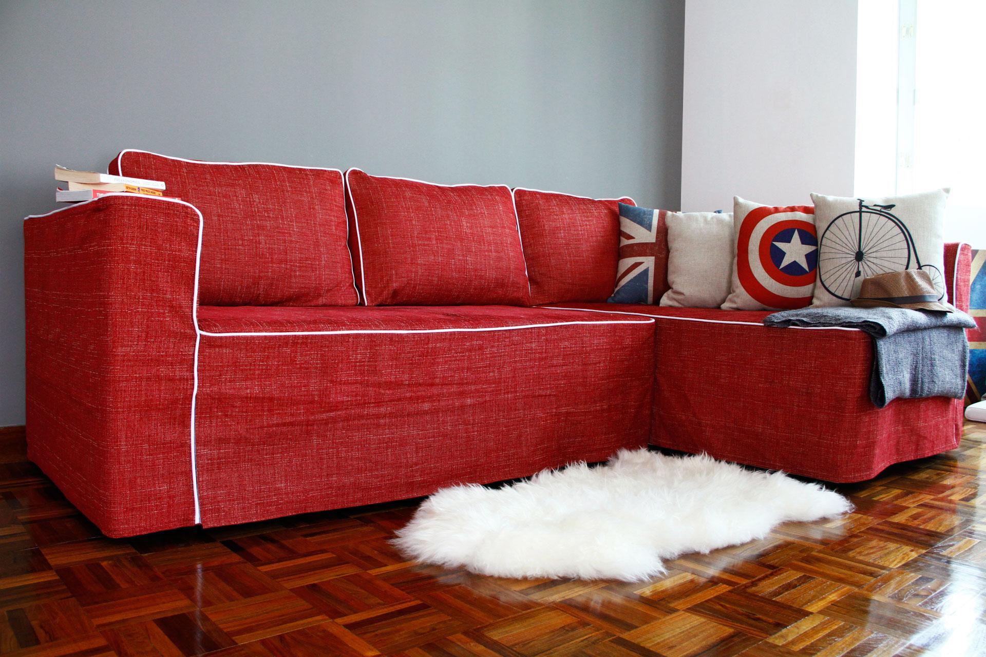 Чехол для углового дивана своими руками