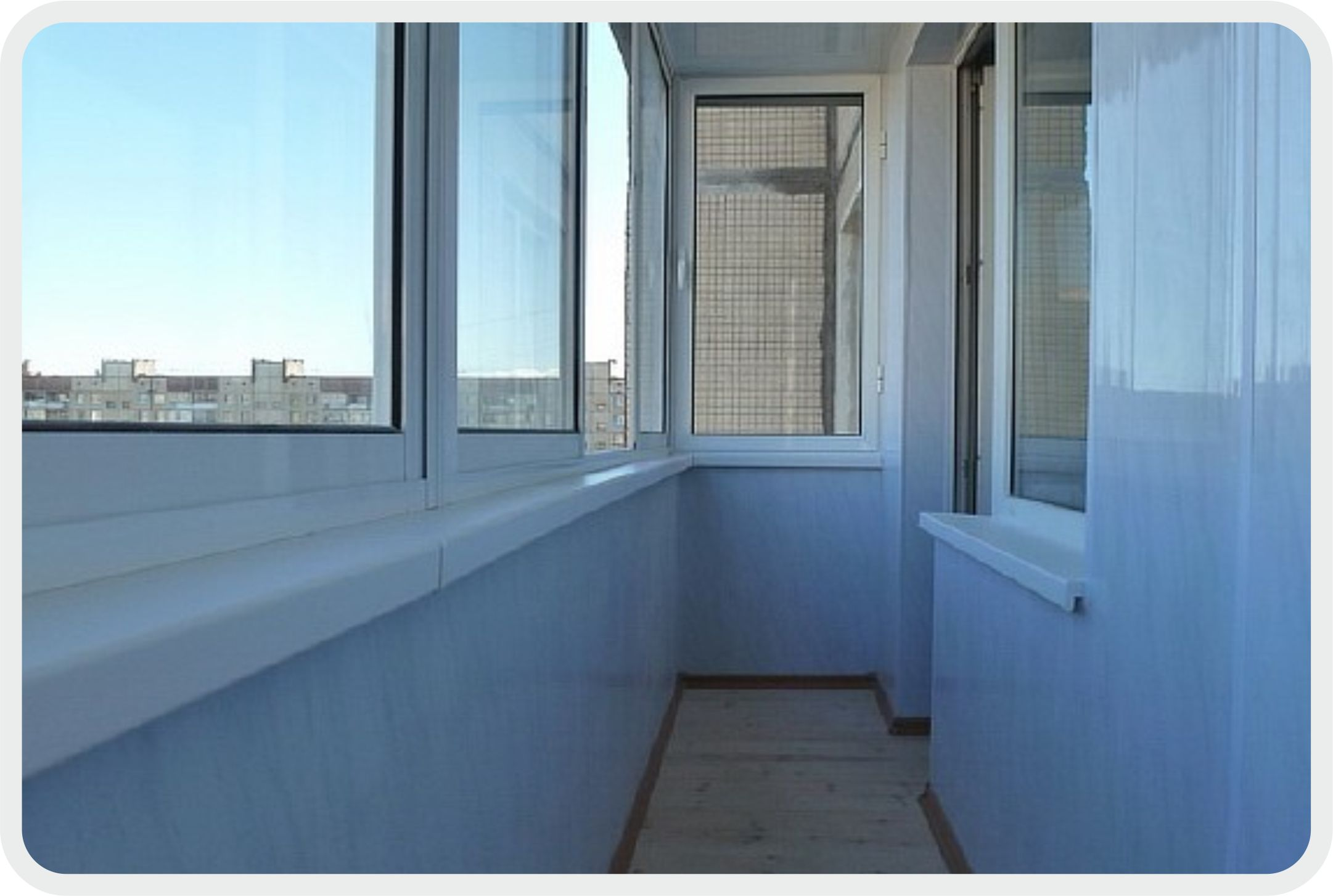 Обшивка панелями пвх балкон фото.