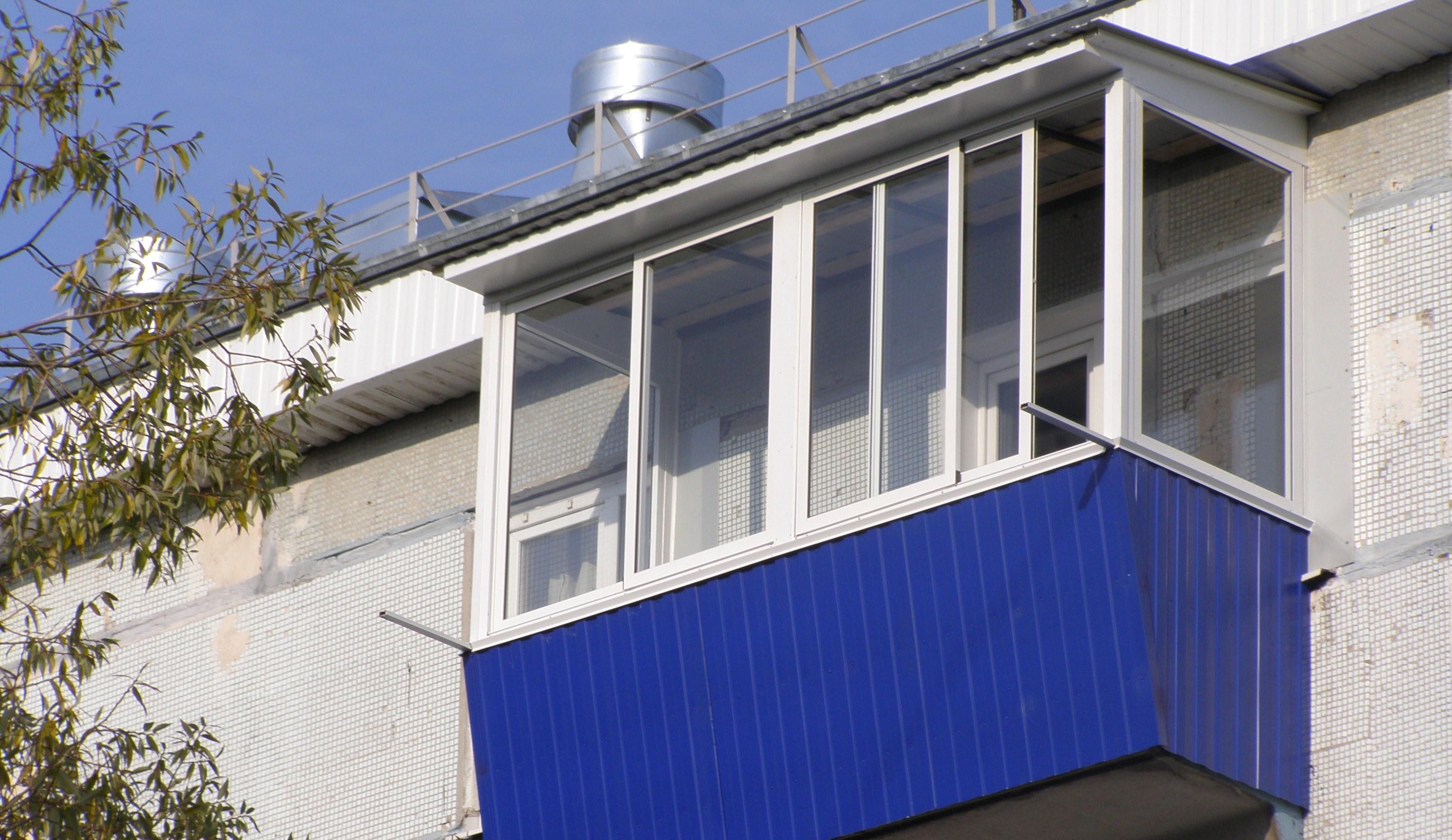 Запрет на остекление балконов.