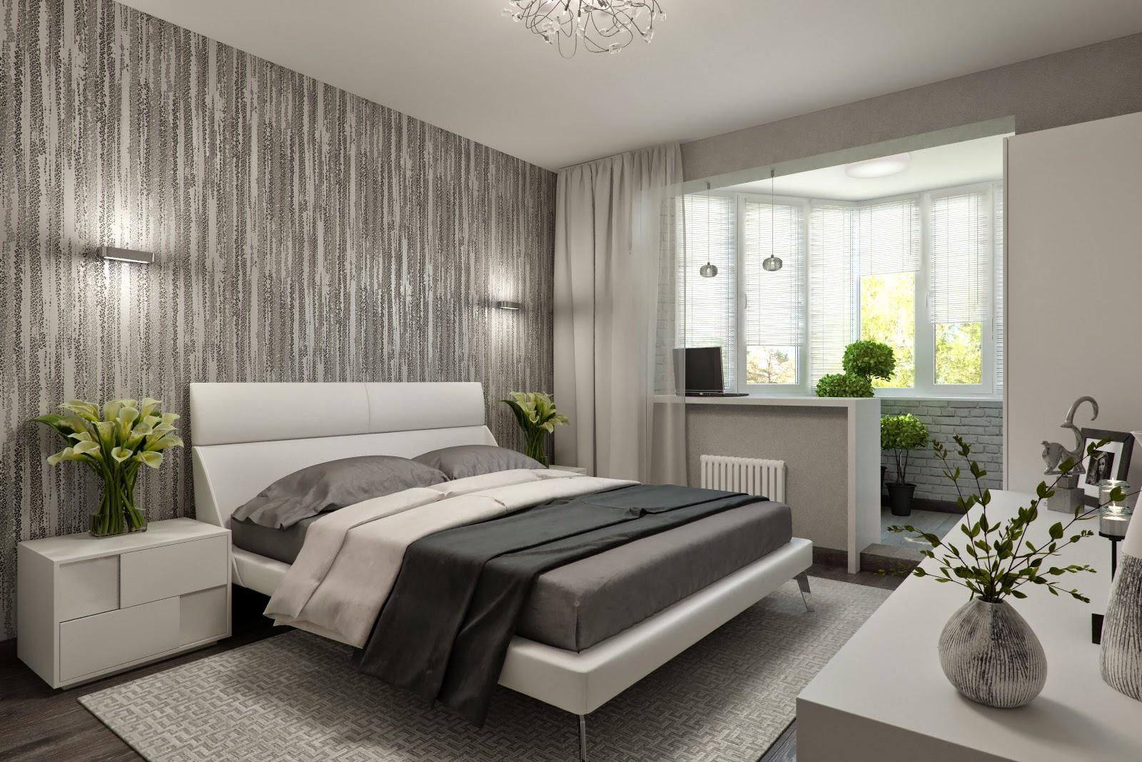 Дизайн спальни - 200 фото идей оформления интерьера спальни.