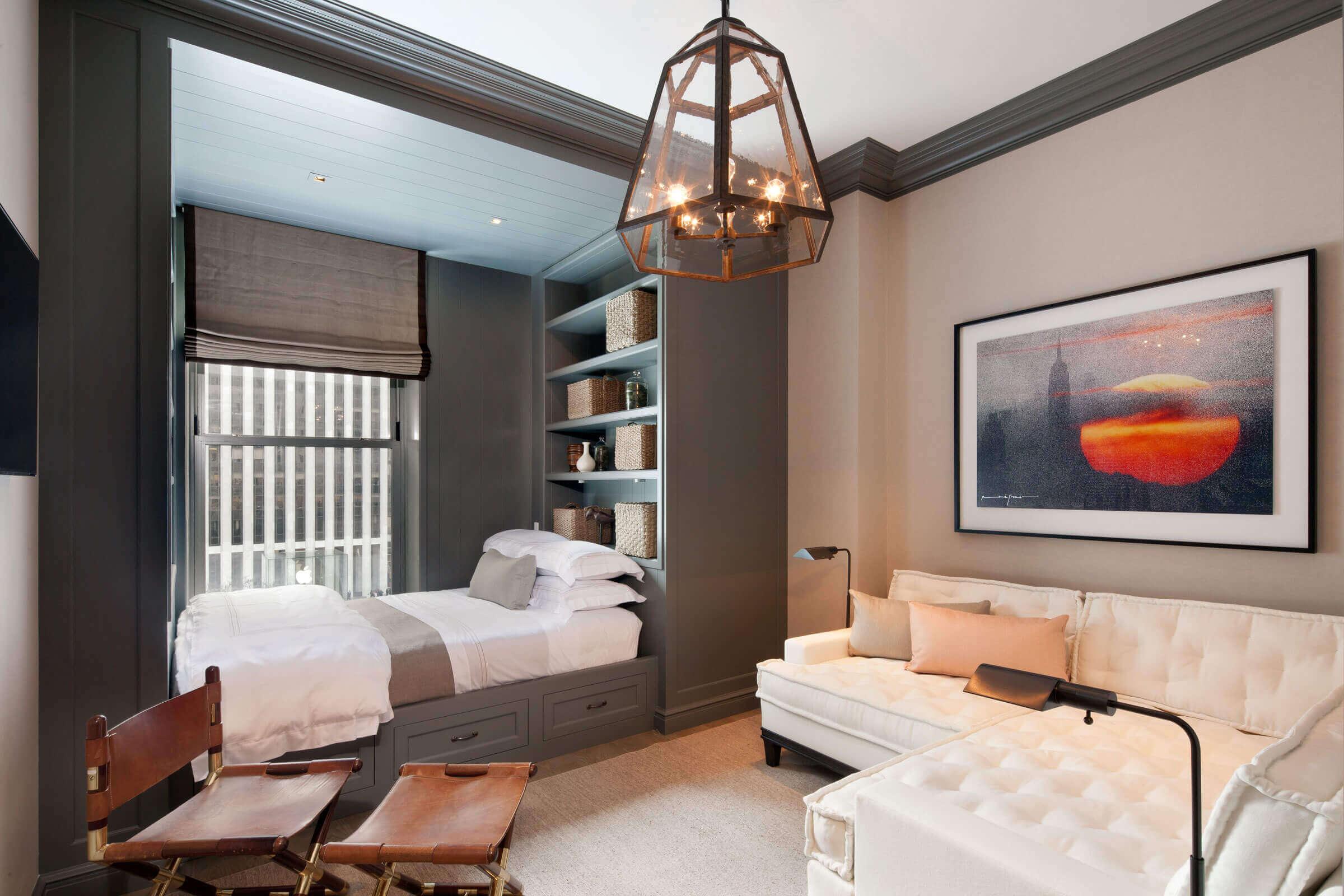 Дизайн комнаты 17 квадратов