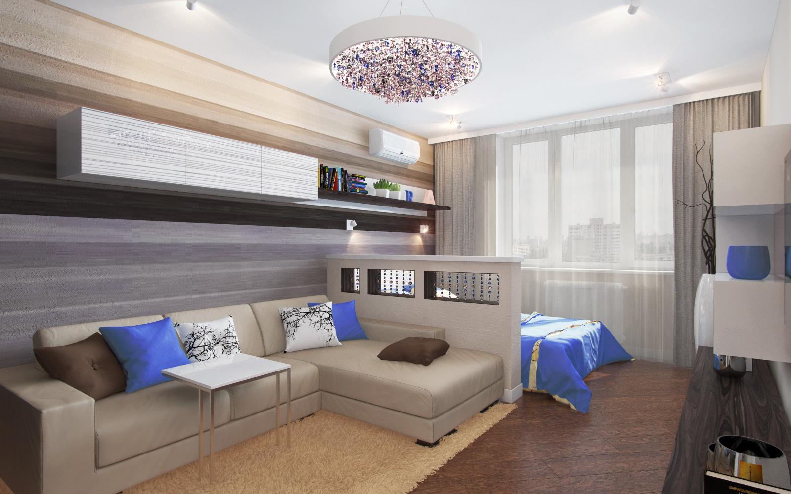 Дизайн и интерьер комнаты в 16 кв метров