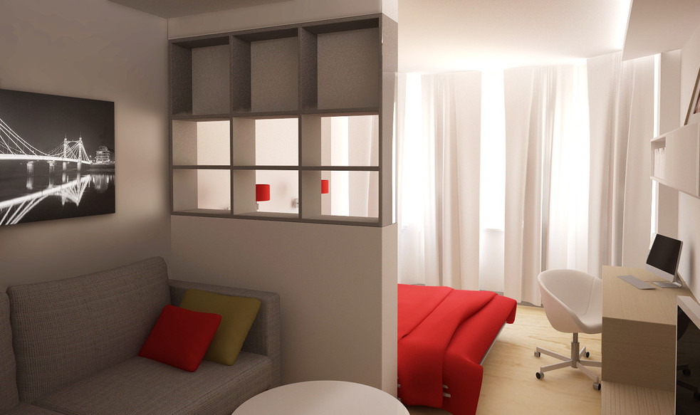 Дизайн спальни 16 кв м 205 фото дизайн-проект интерьера прямоугольной и квадратной комнаты как обустроить планировка и идеи дизайна