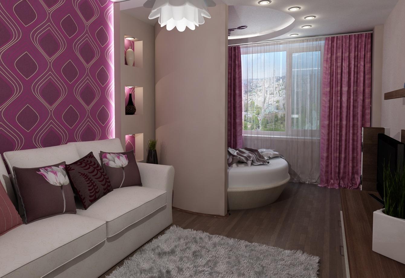 дизайн спальни гостиной 18 кв м 78 фото идеи в интерьере