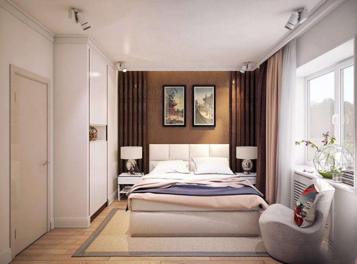 Дизайн спальни хрущевки современные идеи