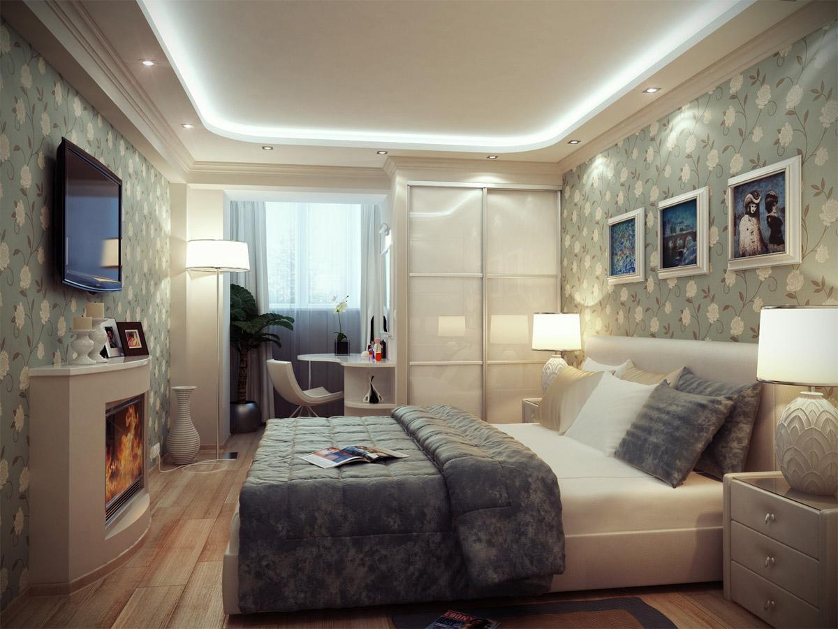 Дизайн спальни 12 кв. м. (145 фото): реальный интерьер мален.